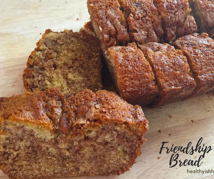 Friendship Bread (cinnamon sugarloaf)